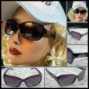 Liz Claiborne Sunglass Black frame/Gray smoke NWT